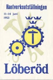 Hantverksutställningen 1953, Program